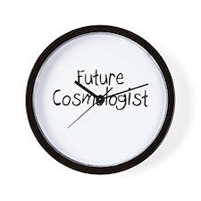 Future Cosmologist Wall Clock