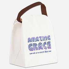 Amazing Grace Canvas Lunch Bag