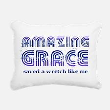 Amazing Grace Rectangular Canvas Pillow