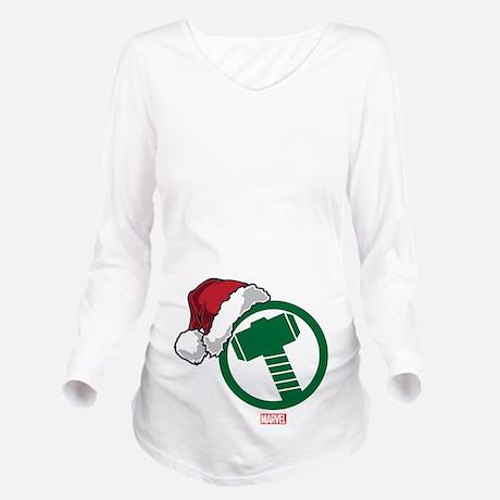 Thor Hammer Holiday Maternity Shirt