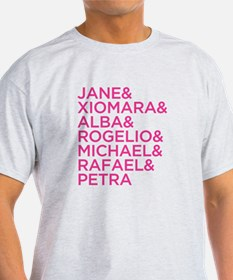 Jane the Virgin Names T-Shirt