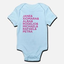 Jane the Virgin Names Infant Bodysuit