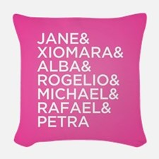 Jane the Virgin Names Woven Throw Pillow