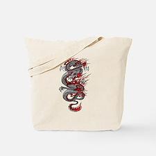 Asian Dragon Tote Bag
