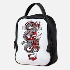 Asian Dragon Neoprene Lunch Bag