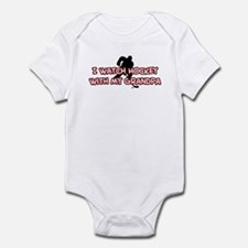 Carolina Hockey Grandpa Infant Bodysuit