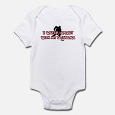 Carolina Hockey Grandma Infant Bodysuit