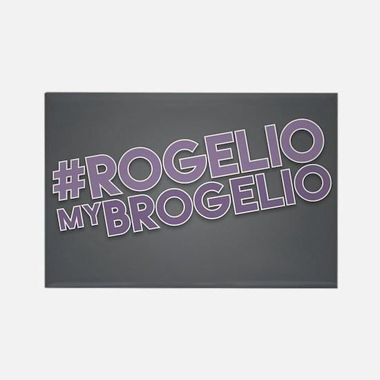 Rogelio My Brogelio Rectangle Magnet