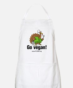 Go Vegan! Turkey Chef BBQ Apron