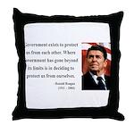 Ronald Reagan 20 Throw Pillow