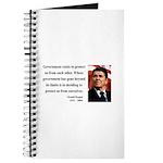 Ronald Reagan 20 Journal