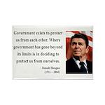Ronald Reagan 20 Rectangle Magnet
