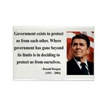 Ronald Reagan 20 Rectangle Magnet (10 pack)