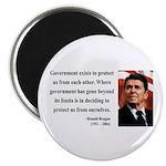 Ronald Reagan 20 Magnet