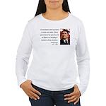 Ronald Reagan 20 Women's Long Sleeve T-Shirt