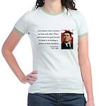 Ronald Reagan 20 Jr. Ringer T-Shirt