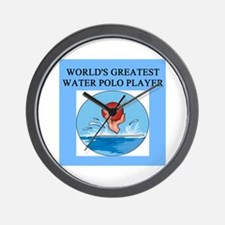 water polo gifts t-shirts Wall Clock
