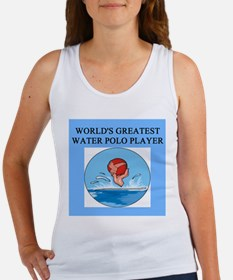 water polo gifts t-shirts Women's Tank Top