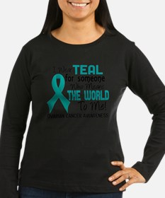 Ovarian Cancer MeansWorldToMe2 Long Sleeve T-Shirt