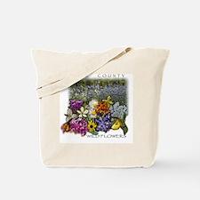 Door County Wildflowers Tote Bag