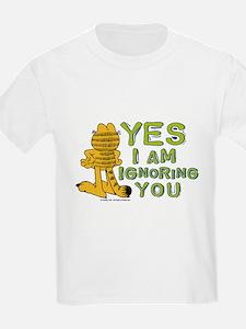 Ignoring you Garfield T-Shirt