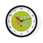 Ignoring you Garfield Wall Clock