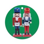 The Happy Masons Nutcrackers Ornament (Round)