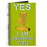 Ignoring you Garfield Journal