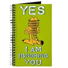 Ignoring you Garfield Journal