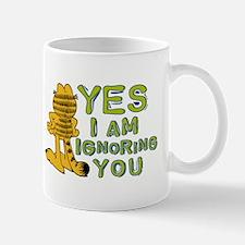 Ignoring you Garfield Mug