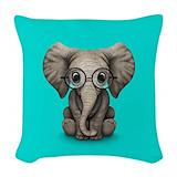 Elephant Woven Pillows