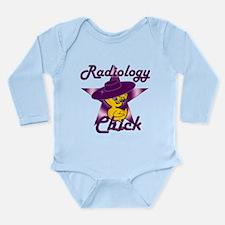 Radiology Chick #9 Long Sleeve Infant Bodysuit