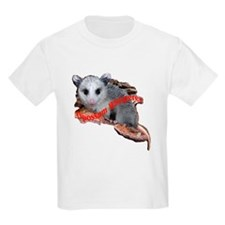 opossum on a log T-Shirt