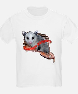 opossum on a log T-Shirt