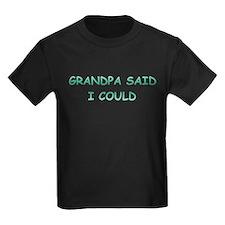 Grandpa Said I Could T