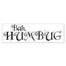 Bah Humbug! Bumper Bumper Sticker