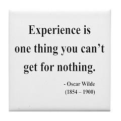 Oscar Wilde 11 Tile Coaster