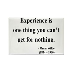 Oscar Wilde 11 Rectangle Magnet