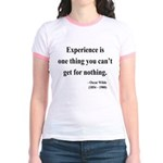 Oscar Wilde 11 Jr. Ringer T-Shirt