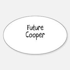 Future Cooper Oval Decal