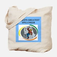 spelunking gifts t-shirts pre Tote Bag
