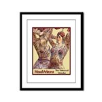 Maud Arizona Vintage Tattooed Lady Print Framed Pa