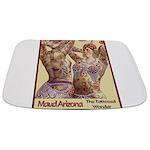 Maud Arizona Vintage Tattooed Lady Print Bathmat