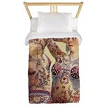 Maud Arizona Vintage Tattooed Lady Print Twin Duve