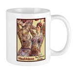 Maud Arizona Vintage Tattooed Lady Print Mugs