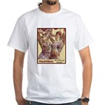 Maud Arizona Vintage Tattooed Lady Print T-Shirt