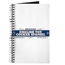 ENGLISH TOY COCKER SPANIEL Journal