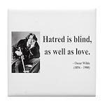 Oscar Wilde 12 Tile Coaster