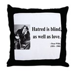 Oscar Wilde 12 Throw Pillow