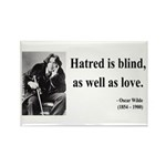 Oscar Wilde 12 Rectangle Magnet (10 pack)